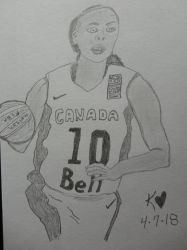 Basketball Canada by Keithzdarkside