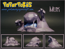 Muk Papercraft by Skeleman