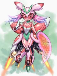 Powered Suit - Lurantis by ptcrow