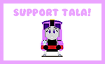 Support Tala [ STAMP ] by KiaraDGPaws