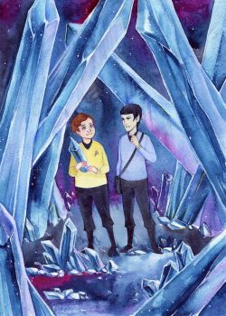 TOS Star Trek - Crystals by MaryIL