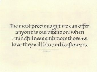 The most precious gift we can offer ... by isolationism