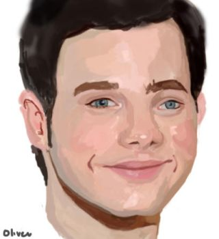 Chris Colfer by blue-owlet