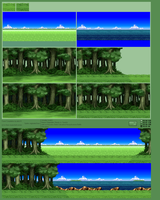 Background Compilation, Forest by jebo14