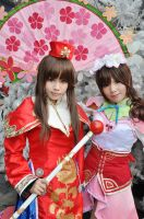 Dynasty Warriors: Qiao sisters by Takui1896