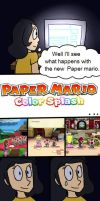Comic of Paper Mario Wii U Part 2 by mariogamesandenemies