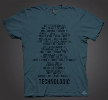 TECHNOLOGIC Tee by system-s