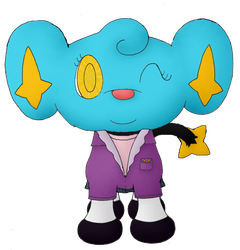 Dot the Shinx (Updated Reference) by Unownace