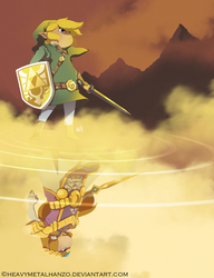 The Legend of Zelda-A World Divided by HeavyMetalHanzo