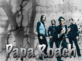 Papa Roach Wallpaper by angryannoyance
