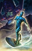 Sideshow Print: Silver Surfer by FabianMonk