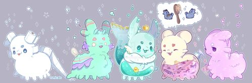 Squeaky-Clean-Paca Squad Schemes :0 by synicals
