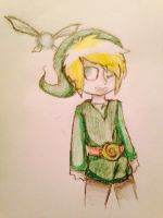 Navi and Link by juliethepuppy101