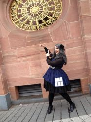 Doctor Who TARDIS Dress by miaka-yuuki