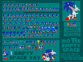 SADX Sonic Sheet by TheGoku7729