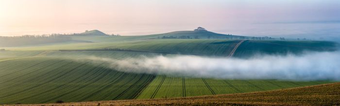 Vale of Pewsey Pano by PeteLatham