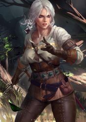 Ciri by zumidraws