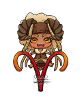 Chibi Aries by Lily-Fu