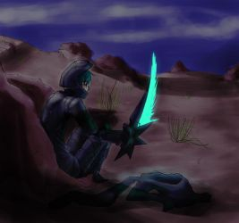 Desert Night by LedZaid