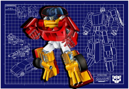 Gobot Optimus Prime by Draconis130