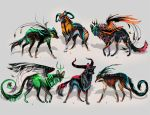Maned Wolfpack Adopts7 (closed) by Furrirama