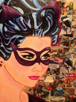 Detail of Catwoman by Callie West of WestStudio3 by WestStudio3