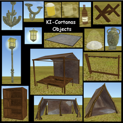 KI-Cortanas Objects for Feral Heart by KI-Cortana