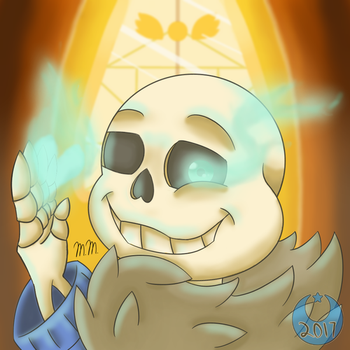 Sans Redraw by Moonalle105