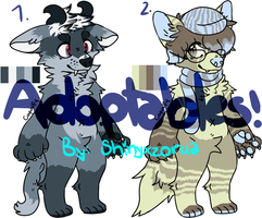 Adoptable Wolf Auctions - CLOSED by Shinyxzorua