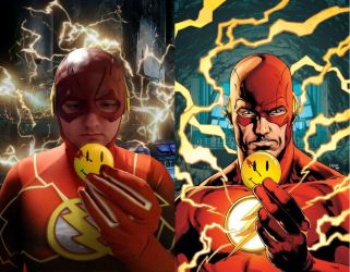 The Flash The Button by ramtopsman