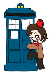 The Doctor and his true love by AmazingAceArmy