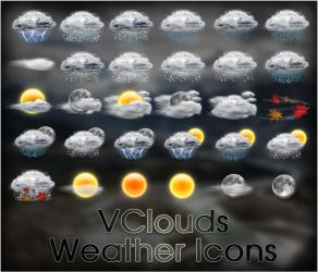 VClouds Weather Icons by VClouds