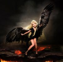 The Fallen Angel by Maria Amanda and various by FueledbypartII