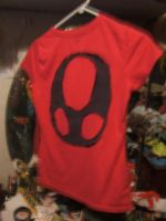 Invader Zim shirt -- backside by Trollan-gurl22