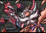 [C] Drakeni: Fang and Lysteria by JaycaChan