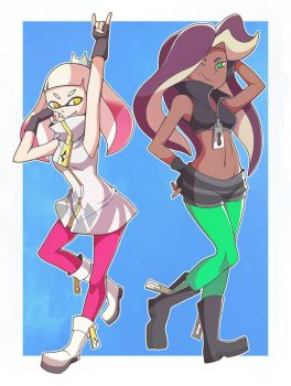 Pearl And Marina by AbyssWatchers