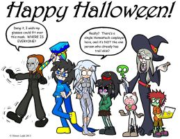 Happy Halloween 2013! by Blitzkrieg1701