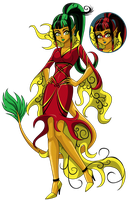 Jinafire Long by sparks220stars