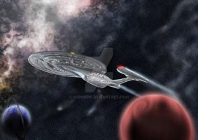To boldly go... +tng+ by SophiePf