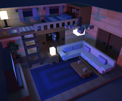Little Voxel Room! by Scratchbite