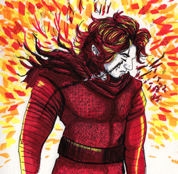 Boy On Fire by Sparr0wlicious
