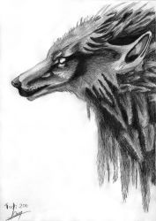 Death is Wolf by Todrias