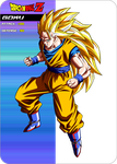 Goku Ssj3  Card by maffo1989