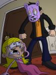 Commission: Lola and The Psychopath by JFMstudios