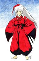 Merry Christmas InuYasha by AdamTupper
