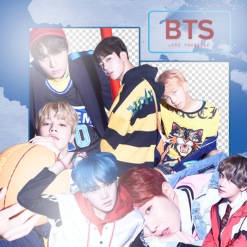 BTS LOVE YOURSELF VERSION E (PNG'S) by ALITTLEPUZZLE