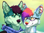 Gray and Shard by Vialir