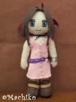 Aerith Plush by momoiro-machiko