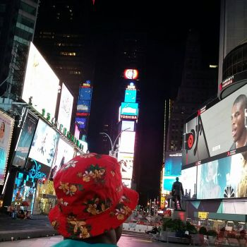 Times Square Perspective  by davehaiti