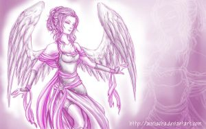 Violet Wings by Anniasha